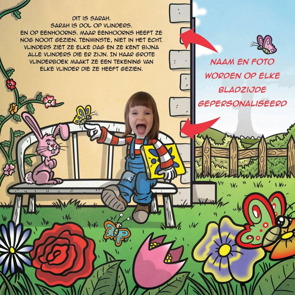 gepersonaliseerd boek voor kind